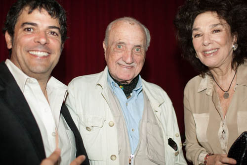 Jesus Garcia and Graciela Borges with Film Festival President Jose Marinez Suarez