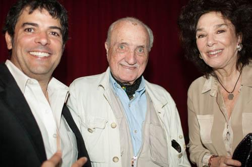 Jesus Garcia and Graciela Borges with Film Festival President Jose Marinez Suarez
