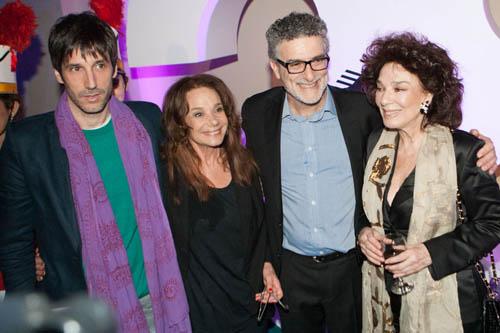 Juan Cruz Bordeu, Ana María Picchio, Fernando Spiner, Graciela Borges