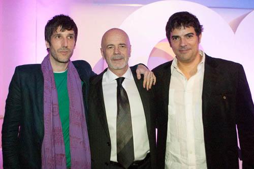Juan Cruz Bordeu, Jorge Telerman, Jesus Garcia
