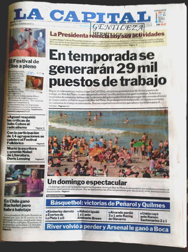 La Capital Newspaper500