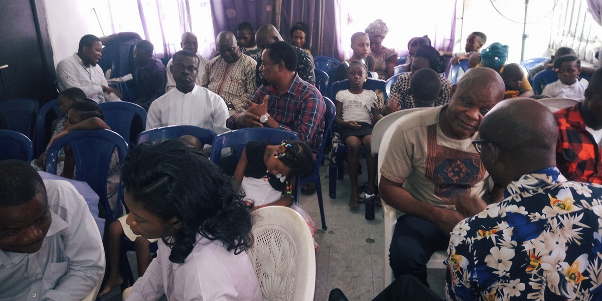 An Afternoon of Blessings in Nigeria