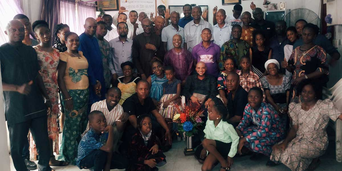 An Update from Nigeria on April Community Events
