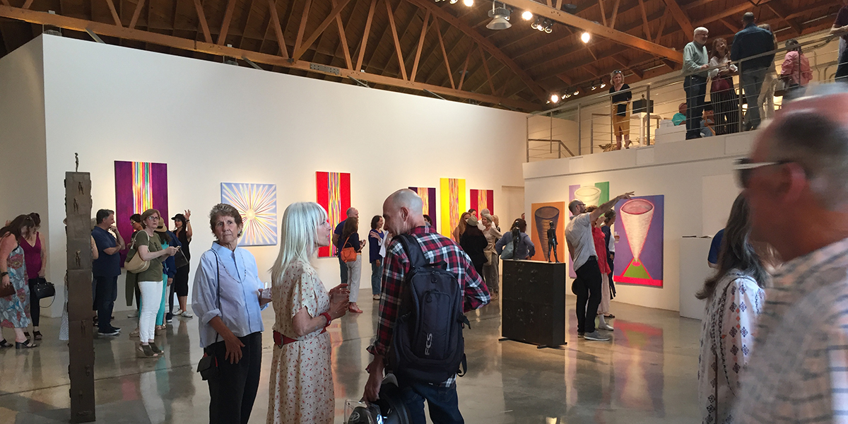 Timothea Stewart's Opening Celebration at Robert Graham Studio Gallery