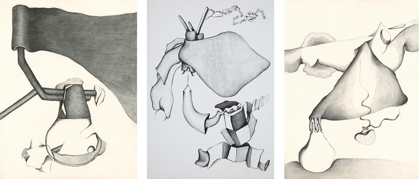 Drawings from Paris